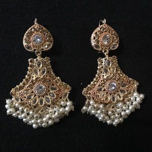 Jewelry - NEW Indian Earrings (Jhumkas)